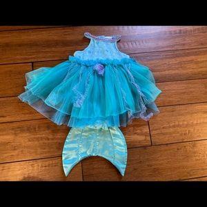 Baby mermaid costume Halloween